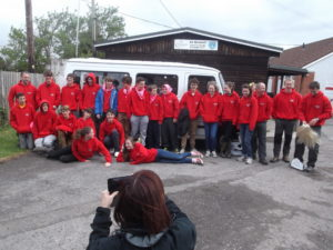 Van gifted and used for 10 Tors expedition in May each year by Banwell Scouts