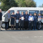 Handover to Banes Air Cadets