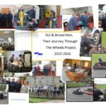 Collage of a year at Wheels by a Group from Bristol Met
