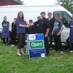 Handover to Food Bank NW Bristol