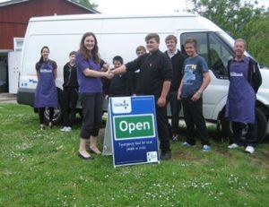 Handover to Food Bank NW Bristol